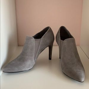 Cole Haan gray ankle boots/ booties 5.5 nwot